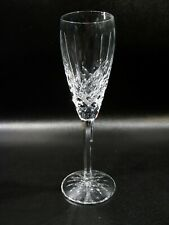 Vtg Waterford Crystal Ireland Araglin 4 Champagne Flutes in Box