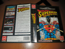 ## Superman: The Man of Steel - SEGA Mega Drive / MD Spiel - TOP ##