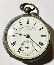 J.G. GRAVES Sheffield Silver POCKET WATCH - 3 Cases - mm.53 - GOOD WORKING
