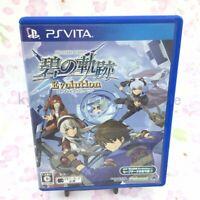 USED PS Vita The Legend of Heroes Ao no Kiseki Evolution PSV 65031 JAPAN IMPORT