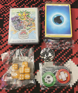 Pokemon Worlds 2017 Sealed Sleeves W/ 65 Energy Cards And More