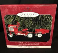 Hallmark Keepsake Ornament 1955 Murray Tractor And Trailer