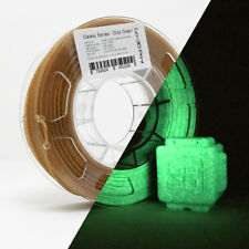 GO-3D Glitz Green Gold Flake Glittery Glow in the Dark 3D Printing PLA Filament