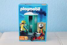 PLAYMOBIL ® 3275 cantiere-Mobile Toilette & bautrupp/Nuovo/Scatola Originale