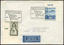 Austria 1968 Europa, Cover To Germany #C19181
