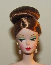 Ravishing in Rouge Nude Silkstone Fashion Model Barbie Doll w/ Earrings