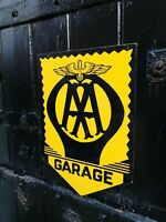 AA sign Automobile Association sign steel garage sign breakdown recovery VAC000