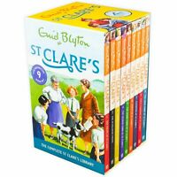 St Clares Enid Blyton 9 Books Collection Set
