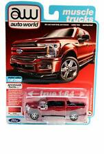 AW Auto World MUSCLE TRUCKS 2018 Ford F-150 Lariat #1 Ruby Red