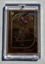 2021 Topps Museum Collection Mark McGwire MFA-MM  Autograph  1/1