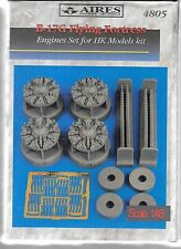 Aires B-17g Flying Fortress Engines Upgrade in 1/48 4805 St