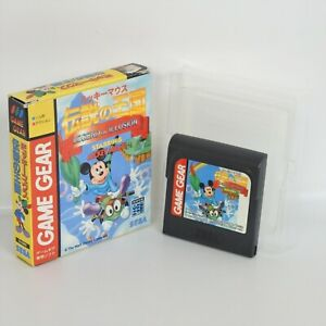 Game Gear LEGEND OF ILLUSION STARRING MICKEY MOUSE No Instruction Sega 264 gg