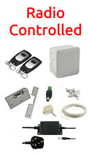 Simple RADIO CONTROLLED Door Entry Kit + Power Supply + Electric Lock Release