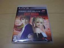 Used PS3 DEAD OR ALIVE 5 Last Round Import Japan Sony Game Free Shipping