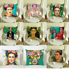 Frida Kahlo 3D Print Cushion Cover 17'' Linen/Cotton Throw pillowcase Home Decor