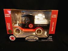 Gearbox Toy Replica 1912 Ford Texaco Oil Tanker Bank New in Box