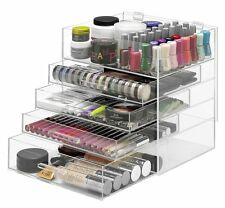 Cosmetic Makeup Organizer Storage Container Box Drawer Jewelry Acrylic Holder