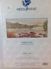 Needlepoise Cross Stitch Kit, Reed Lake From The Harmony Collection. 16#