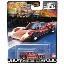 Hot Wheels 2020 Boulevard Walmart Real Riders - #19 '69 Alfa Romeo 33 Stradale