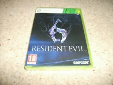 RESIDENT EVIL 6 (Microsoft Xbox 360, 2012) ITALIAN VERSION - NEW & SEALED