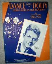 1944 Dance With A Dolly Vintage Sheet Music Johnny Long Shand, Eaton, Leader