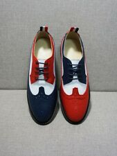 Women Brogue Carved Casual Lace Up Leather Pieced Oxfords Flat Breathable Shoes