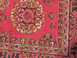 Delightful Traditional Oversized Vintage  Rug Oriental Area Carpet 6' x 4'