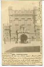 CPA - Carte Postale - Belgique - Liège - L'Entrée de la Prison - 1904 (BR14648)