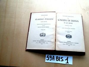 BOCCACCIO LA CACCIA DI DIANA E LE RIME     UTET     (59BIS1)