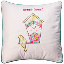 Kirstie Allsopp Wilma Duckegg Patchwork Floral Soft Bedroom 30x50cm Cushion