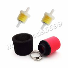 35mm Air Filter+2 pc Fuel Filters For 50 70 90 110cc XR50 CRF50 Pit Dirt Bike