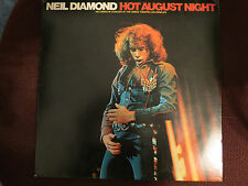 NEIL DIAMOND **HOT AUGUST NIGHT ** DOUBLE 2 RECORDs LP VINYL