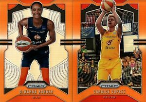 2020 PANINI WNBA PRIZM ORANGE PRIZM #/65 SINGLES - YOU PICK & COMPLETE YOUR SET
