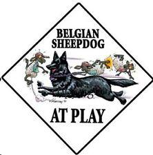 McCartney Belgian Shepherd SIGN: = FUN!!