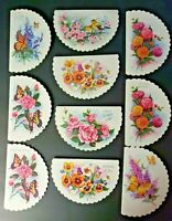 Vintage Rare Quality Crest QC Printed in USA Lot of 10 Verity of Cards NOS