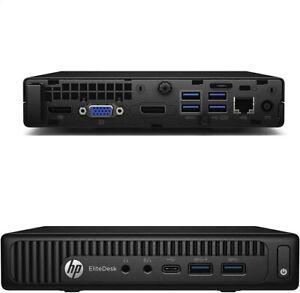 Mini PC HP ProDesk 600 G2 USFF Tiny Intel Core 2.9Ghz 8Go DDR 256Go SSD W10