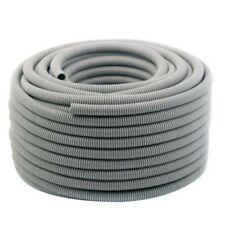 20mm Corrugated Conduit 25m Roll Flexible PVC Grey Conduit for AirCon HVAC
