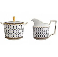 Wedgwood Renaissance Gold Covered Sugar and Creamer New with Tag