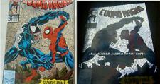 Amazing Spider-Man #375 SILVER Metal FOIL Euro Variant 1st Anne Weying She VENOM