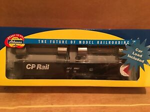 HO Athearn RTR Canadian Pacific 52' Mill Gondola With Steel Coil Load CP #330921