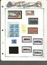 RAILROADS (A)...India #158/1151...Pakistan #308...M & U...SCV $30.90