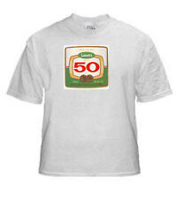 LABATT 50 BEER LABEL T SHIRT CANADA SIZES SMALL THRU XXLARGE