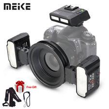 Cámara SLR Meike MK-MT24 Macro Twin Lite Flash para Nikon D2X D3 D3X Digital s