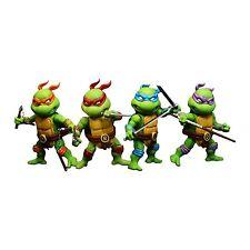 Herocross Teenage Mutant Ninja Turtles Mini Hybrid Metal Action Figure Set TMNT