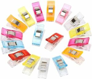 50/100 Wonder Clips for Quilting Clips Fabric Craft Knitting Sewing Crochet Pins