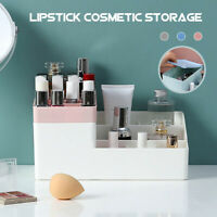 Cosmetic Desktop Storage Box Makeup Jewelry Lipstick Holder Organizer Decor Case