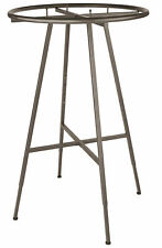 Round Clothing Rack Clothes Garment Retail Store Raw Steel