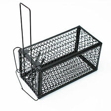Small Animal Live Hunting TRAP Catch Alive Survival Mouse Rabbit Snare cage EN