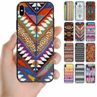 For Samsung Galaxy Series - Navajo Print Pattern Back Case Mobile Phone Cover #2