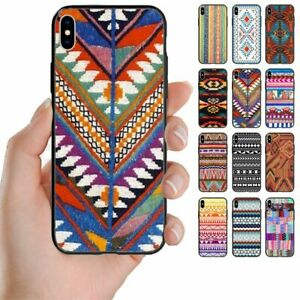 For Samsung Galaxy Series - Navajo Print Pattern Back Case Mobile Phone Cover #3